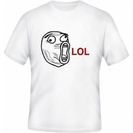 Meme tričko LOL