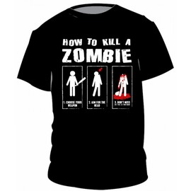 How to kill a zombie
