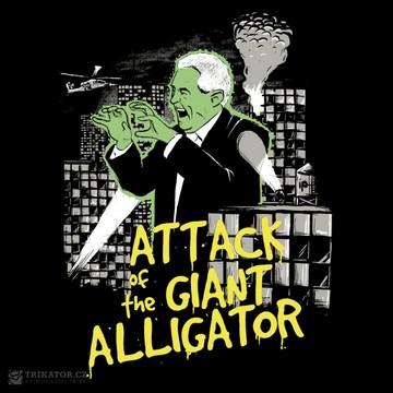 Tričko Útok aligátora