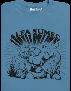 Alfasumec modré pánské tričko