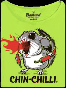 Bastard.cz Chinchilli zelené dámské tričko