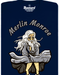 Bastard.cz Merlin Monroe pánské tričko