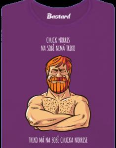 Chuck Norris dámské tričko