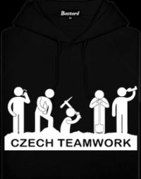 Czech Teamwork pánská mikina