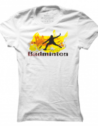 Dámské tričko Badminton Abstract
