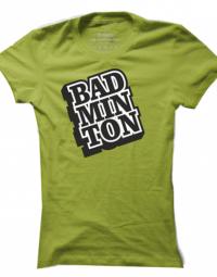 Dámské tričko Badminton Stamp
