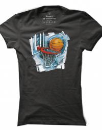 Dámské tričko Basketball Graffiti