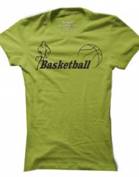 Dámské tričko Basketball Label