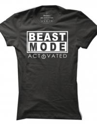Dámské tričko Beast Mode Activated