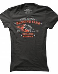 Dámské tričko Burning Robber