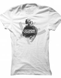 Dámské tričko Extreme cycling