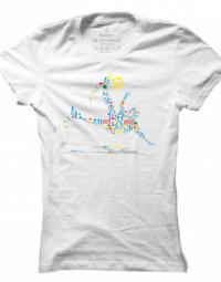 Dámské tričko Football Pictogram