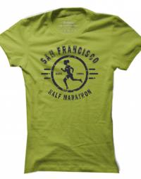 Dámské tričko Half Marathon