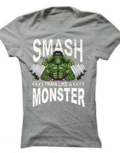 Dámské tričko Hulk Smash