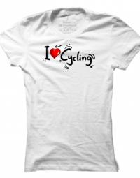 Dámské tričko I Love Cycling