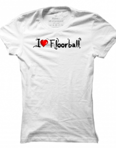 Dámské tričko I Love Floorball