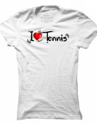 Dámské tričko I Love Tennis