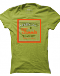 Dámské tričko Legendary Tennis Champion