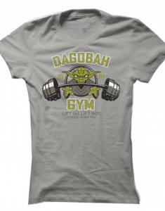 Dámské tričko Lifting Yoda