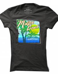 Dámské tričko Malibu Beach