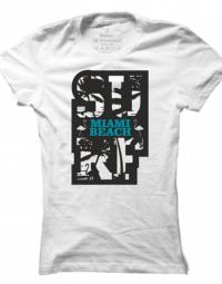 Dámské tričko Miami Beach