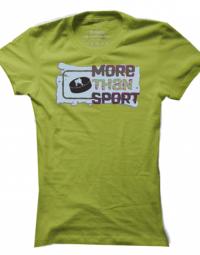 Dámské tričko More than Sport