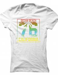 Dámské tričko Ocean Beach California