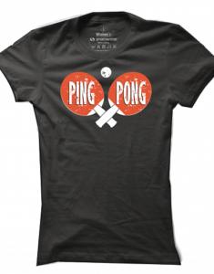 Dámské tričko Ping Pong Cross