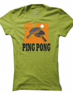 Dámské tričko Ping Pong Sign