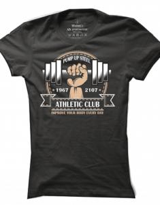 Dámské tričko Pump Up Steel
