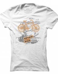 Dámské tričko Retro Bike