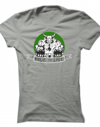 Dámské tričko Ride To Live