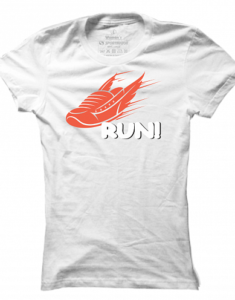 Dámské tričko Run!