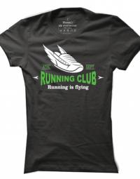 Dámské tričko Running Is Flying