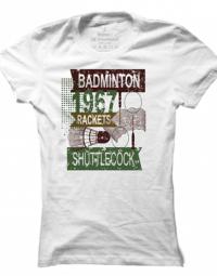 Dámské tričko Shuttlecock1967