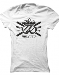 Dámské tričko Ski Club