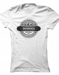 Dámské tričko Snowkings