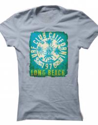 Dámské tričko Surf Club 1976