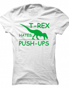 Dámské tričko T-Rex