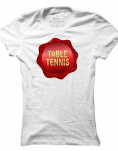 Dámské tričko Table Tennis