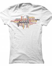 Dámské tričko Tennis Signs