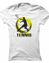 Dámské tričko Tennis Silhouette