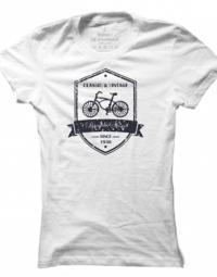 Dámské tričko Vintage Bicycle Store