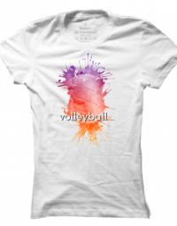 Dámské tričko Volleyball Imprint