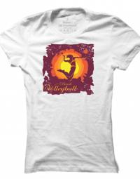 Dámské tričko Volleyball Silhouette