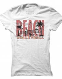 Dámské tričko Volleyball on the Beach