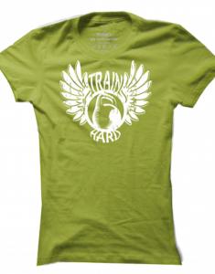 Dámské tričko Winged Kettlebell