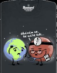 Diagnóza pánské tričko