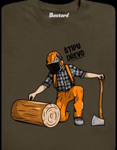 Dřevorubec pánské tričko