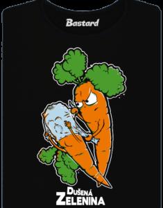 Dušená zelenina dámské tričko